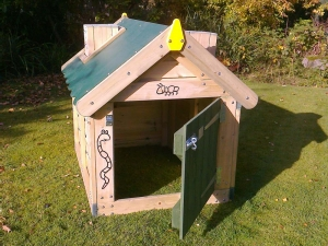 Composter - open