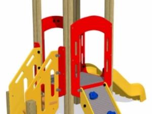 HDPE Play Tower climbing wall