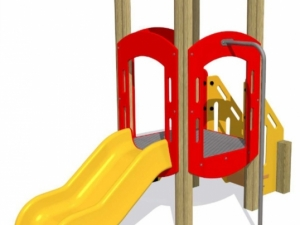 HDPE Play Tower