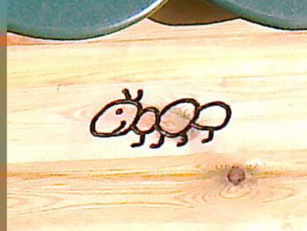 Ant engraving