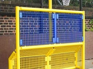 Goal End w Netball