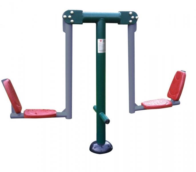 Double Squat Push Render