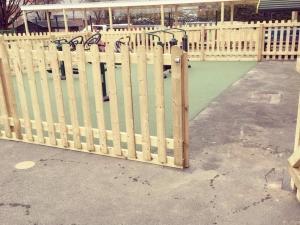 gym fencing