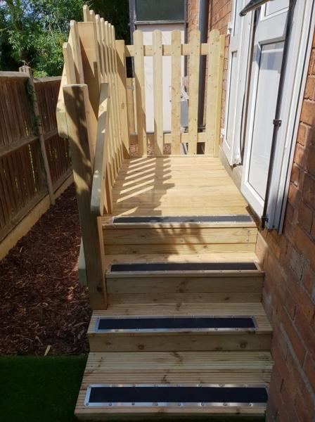 St Huberts stairs and bark