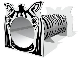 Zebra tunnel
